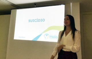 Suicídio foi tema de roda de conversa no Hospital Dia