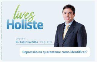 LIVES HOLISTE   DEPRESSÃO NA QUARENTENA: COMO IDENTIFICAR?
