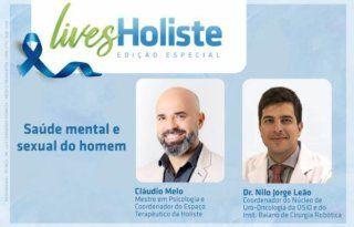 LIVES HOLISTE | SAÚDE MENTAL E SEXUAL DO HOMEM